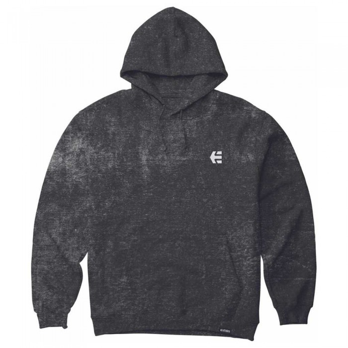 [해외]에트니스 Team Embroidery Wash Hoodie 14137917337 Black Wash