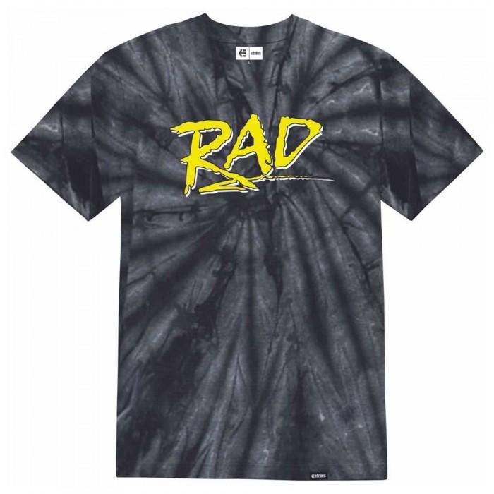 [해외]에트니스 Rad Wash Short Sleeve T-Shirt 14137917390 Black
