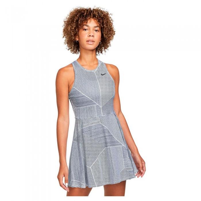[해외]나이키 Court Dri Fit Advantage Dress 12138345761 White / Black