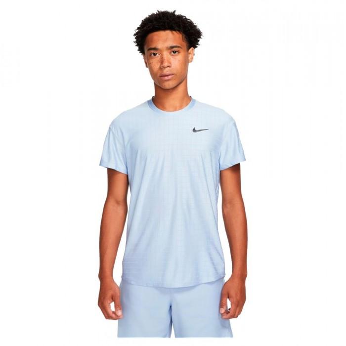 [해외]나이키 Court Breathe Advantage Short Sleeve T-Shirt 12138251195 Aluminum / Aluminum / Black