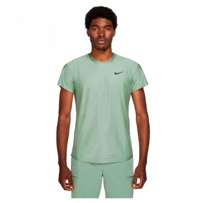 [해외]나이키 Court Breathe Advantage Short Sleeve T-Shirt 12138251197 Jade Smoke / Jade Smoke / Black
