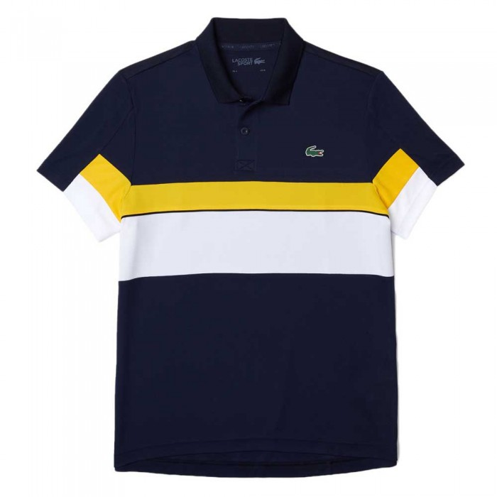 [해외]라코스테 Sport DH6932 Short Sleeve Polo 12138259623 Marine / White-Genet-Black-B