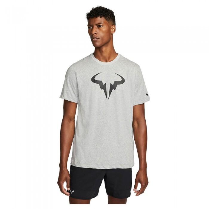 [해외]나이키 Court Dri Fit Rafa Short Sleeve T-Shirt 12138297799 Dk Grey Heather / Black