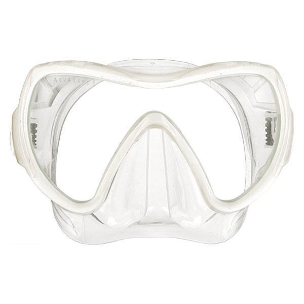 [해외]아쿠아렁 Visionflex LX Midi Mask 10554904 Transparent / White Artic