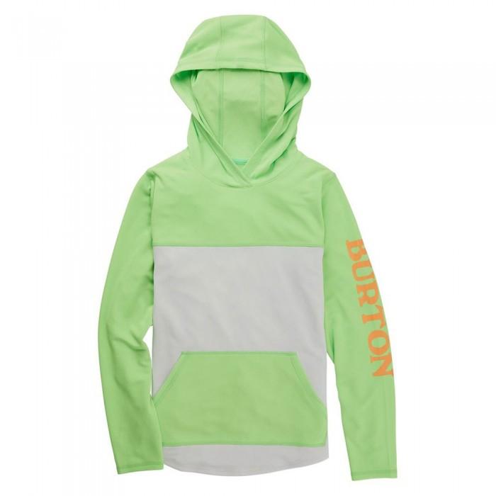 [해외]버튼 Spurway Tech Hoodie 5138007785 Summer Green / Lunar Grey