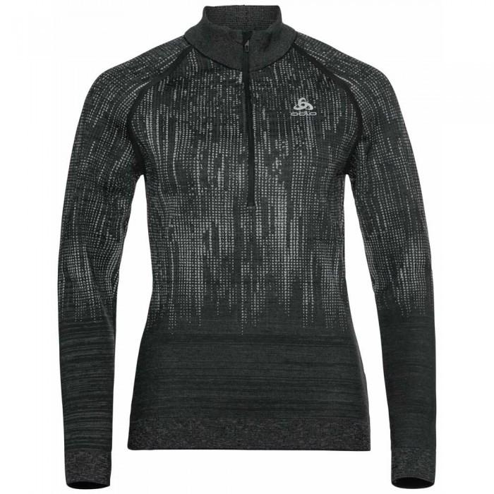 [해외]오들로 Blackcomb ML Fleece 5137503297 Graphite Grey / Black