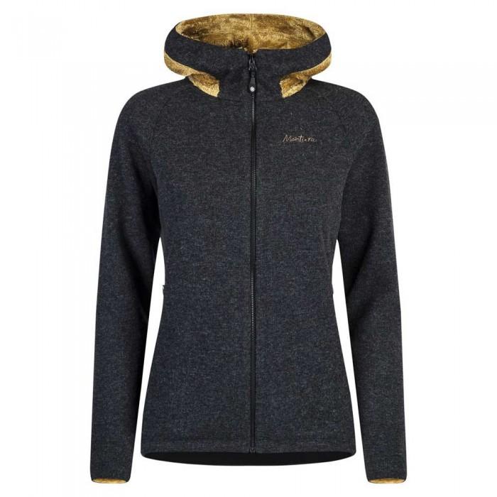 [해외]몬츄라 Wool Polar Hooded Fleece 5137747934 Ardesia / Gold