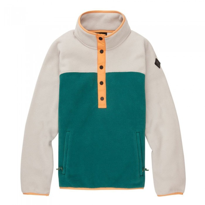 [해외]버튼 Hearth Fleece 5138007630 Lunar Grey / Antique Green