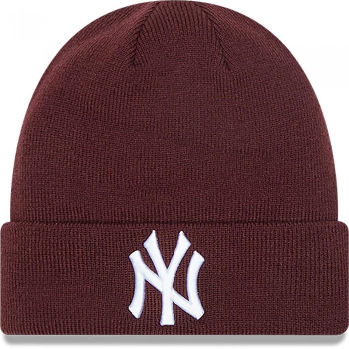 [해외]뉴에라 League Essential Cuff Beanie Dark Purple