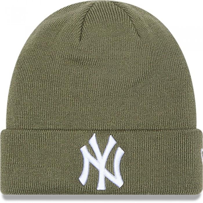 [해외]뉴에라 League Essential Cuff Beanie Green Medium