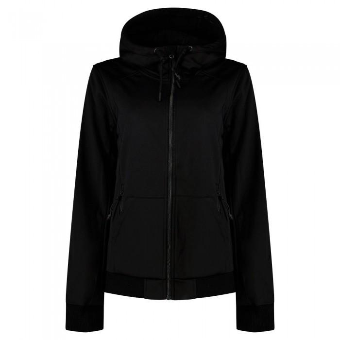 [해외]슈퍼드라이 Bonded Soft Shell Jacket Black