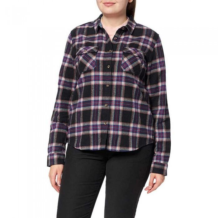 [해외]슈퍼드라이 Classic Lumberjack Long Sleeve Shirt Hatton Check Navy