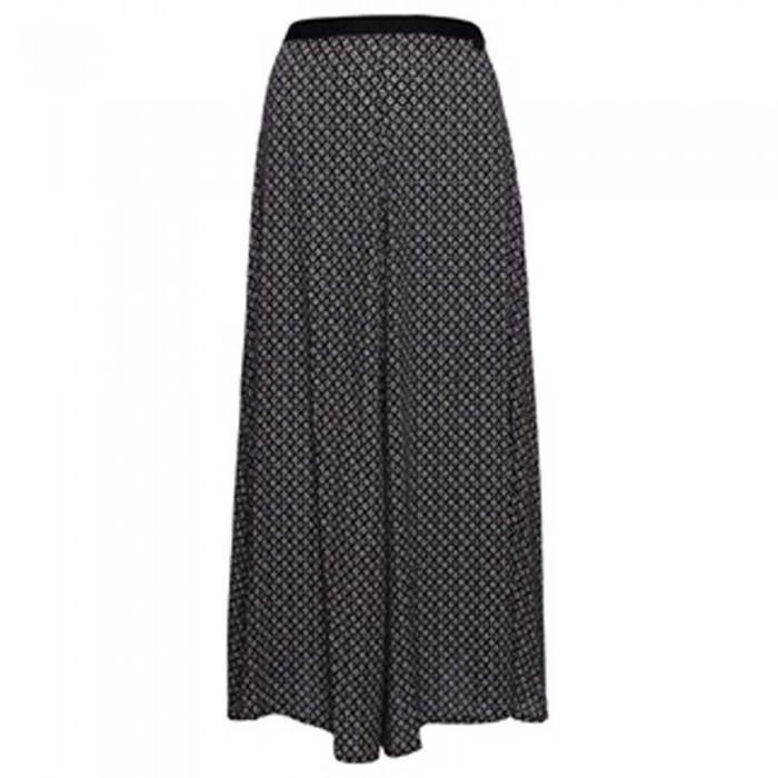 [해외]슈퍼드라이 Studios Maxi Skirt Diamond Geo Black