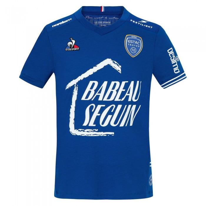 [해외]르꼬끄 ESTAC Home Sponsor T-Shirt Junior 3138225511 Electro Blue