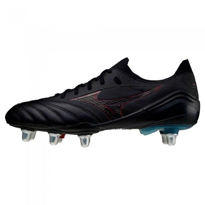 [해외]미즈노 Morelia Neo III Beta Elite SI Rugby Boots 3138140705 Black / Tawny Port / Black