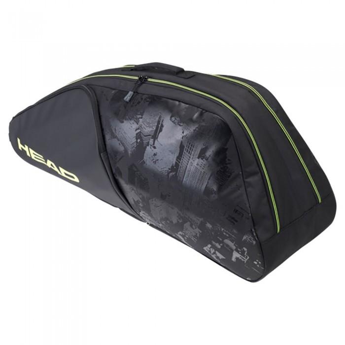 [해외]헤드 RACKET Extreme Nite Combi Racket Bag 12138360606 Black / Neon Yellow