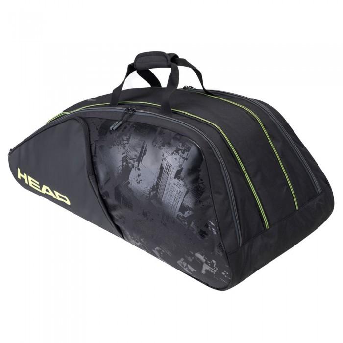 [해외]헤드 RACKET Extreme Nite Monstercombi Racket Bag 12138360607 Black / Neon Yellow