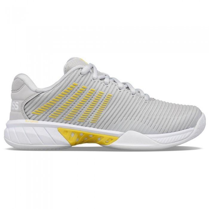 [해외]케이스위스 Hypercourt Express 2 Shoes 12137916005 Lunar Rock / Buttercup / White