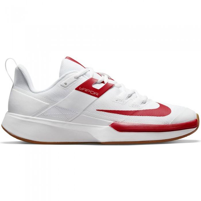 [해외]나이키 Court Vapor Lite Clay Clay Shoes 12138251361 White / University Red-Wheat