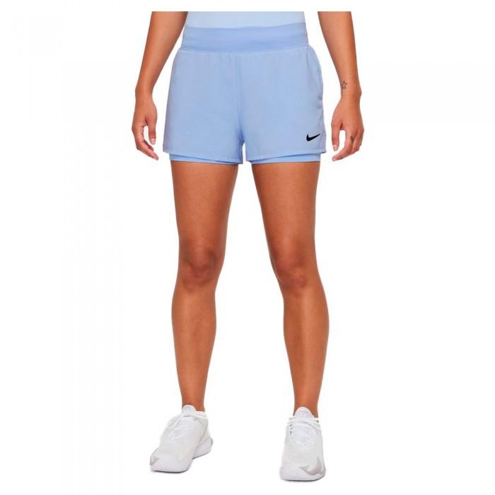 [해외]나이키 Court Dri Fit Victory Shorts 12138251282 Aluminum / Black