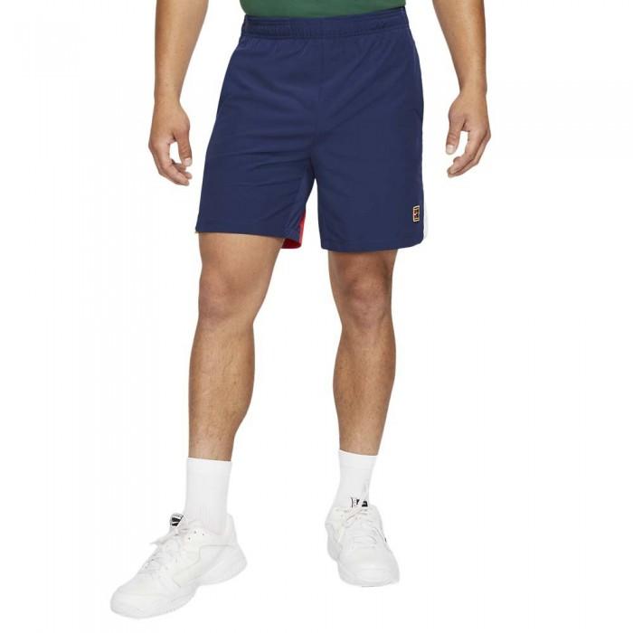 [해외]나이키 Court Dri Fit Slam Shorts 12138251238 Binary Blue / University Red / White