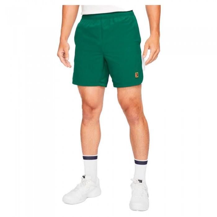 [해외]나이키 Court Dri Fit Slam Shorts 12138251239 Gorge Green / Binary Blue / White