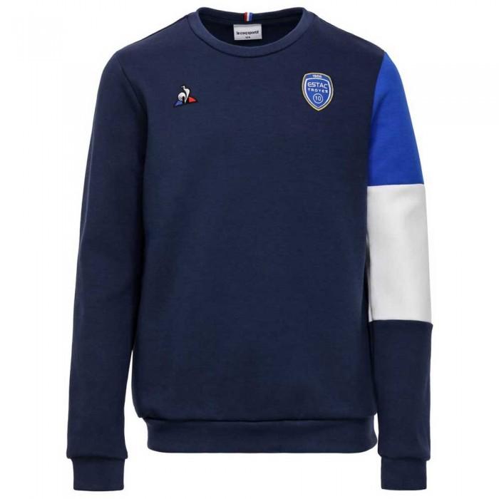 [해외]르꼬끄 ESTAC Troyes Crew Nº1 19/20 Junior Sweatshirt 15137441979 Dress Blues