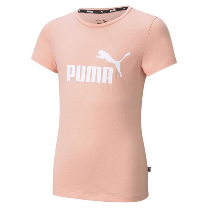 [해외]푸마 Essential Logo Short Sleeve T-Shirt 15137920836 Apricot Blush