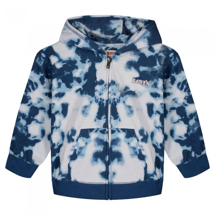 [해외]리바이스 ? KIDS Full Zip Sweatshirt 15138145849 Peacoat Tie Dye