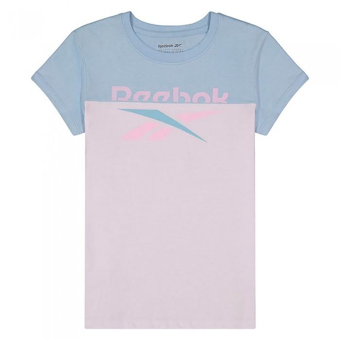 [해외]리복 1/2 Classic Short Sleeve T-Shirt 15138155538 Crystal Blue