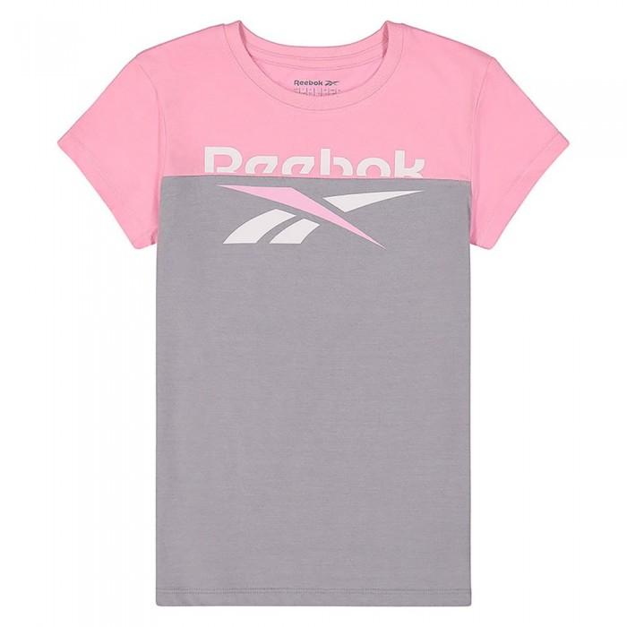[해외]리복 1/2 Classic Short Sleeve T-Shirt 15138155539 Lilac Sachet
