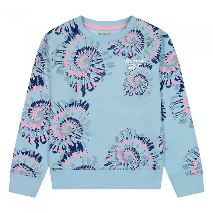 [해외]리복 Swirl Sweatshirt 15138155551 Crystal Blue