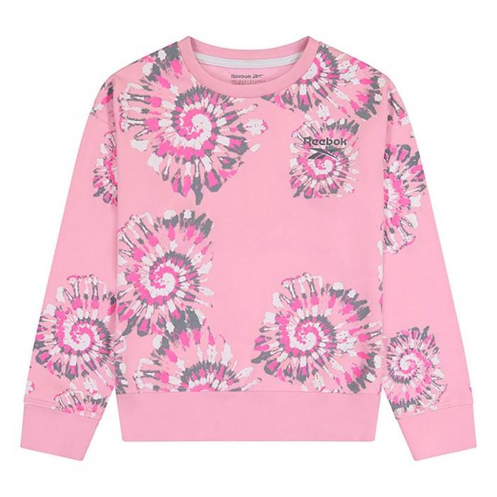 [해외]리복 Swirl Sweatshirt 15138155552 Lilac Sachet