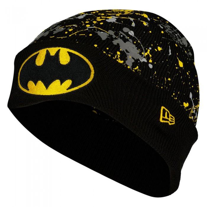[해외]뉴에라 Cuff Knit Batman Youth Beanie 15138233112 Black