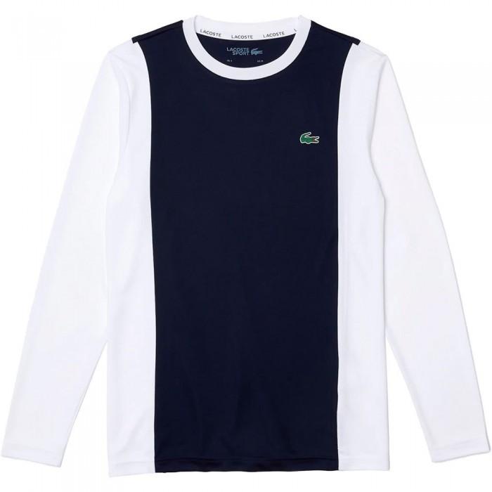 [해외]라코스테 Sport TH7221 Boy T-shirt 15138259690 Marine / White-Marine-White