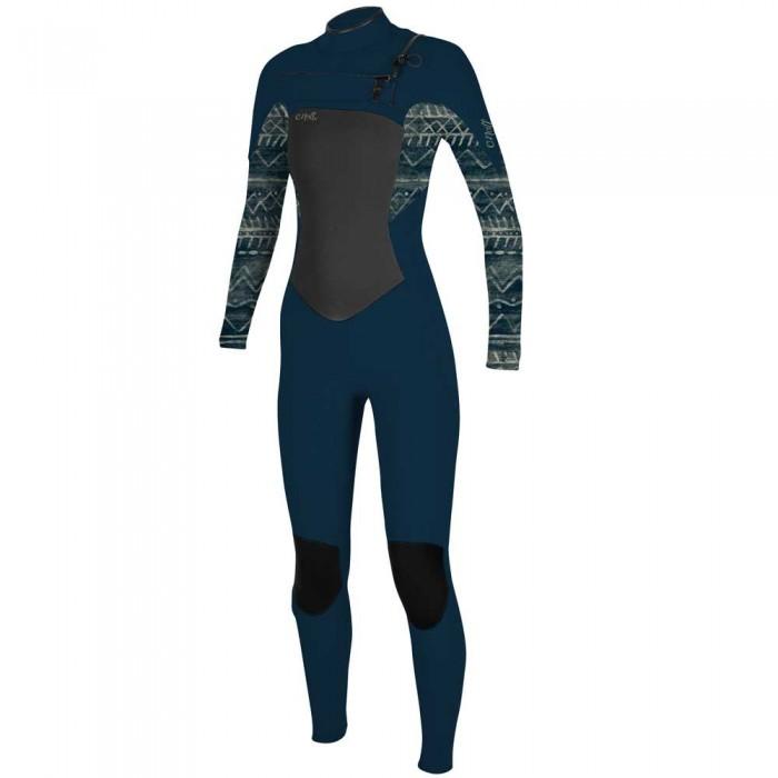 [해외]오닐 웻슈트 Woman Epic 4/3 mm Long Sleeve Wetsuit 14138264841 Shade / Bungalow Stripe