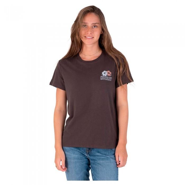 [해외]헐리 Merie Three Relaxed Girlfriend Short Sleeve T-Shirt 14138238614 Vintage Black