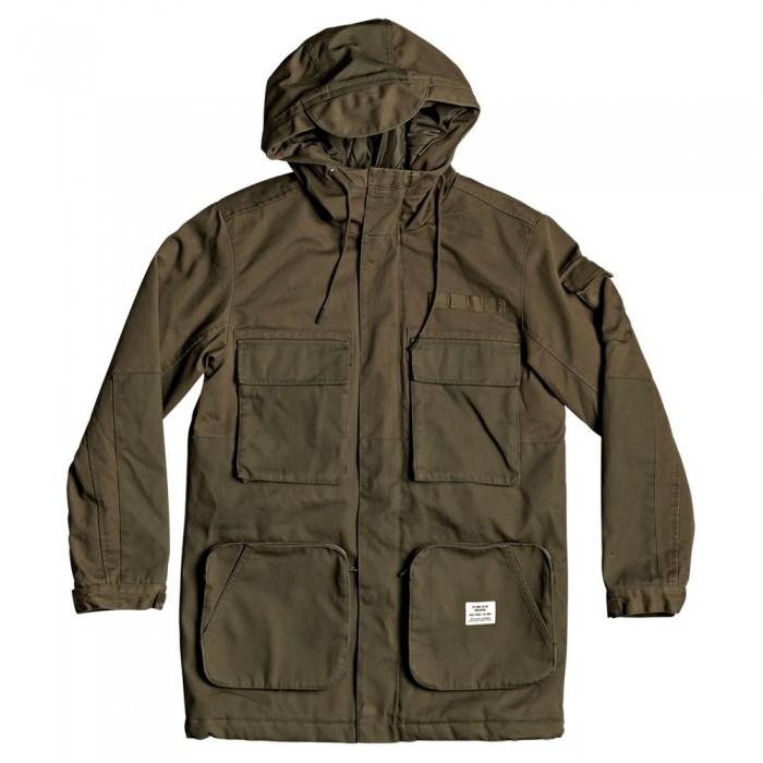 [해외]DC슈즈 Brunski Jacket 14137588409 Fatigue Green