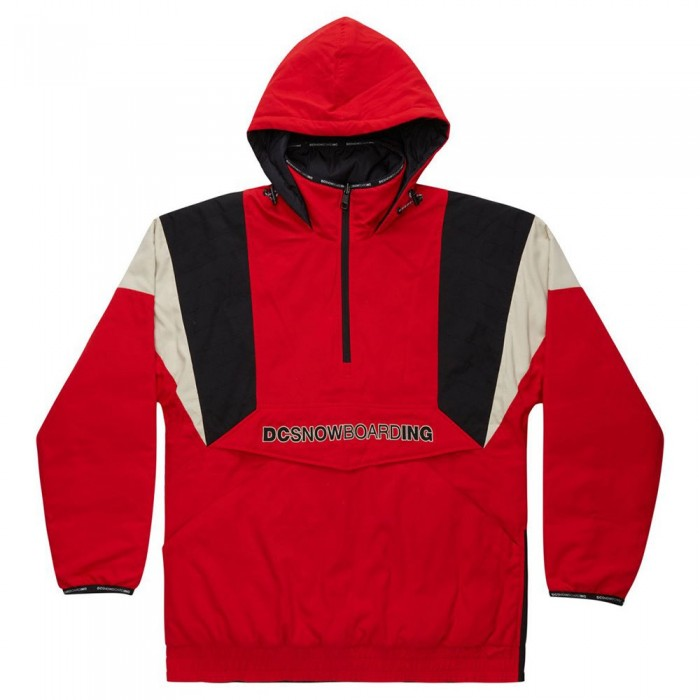 [해외]DC슈즈 Transition Reversible Anorak Jacket 14138152381 Racing Red