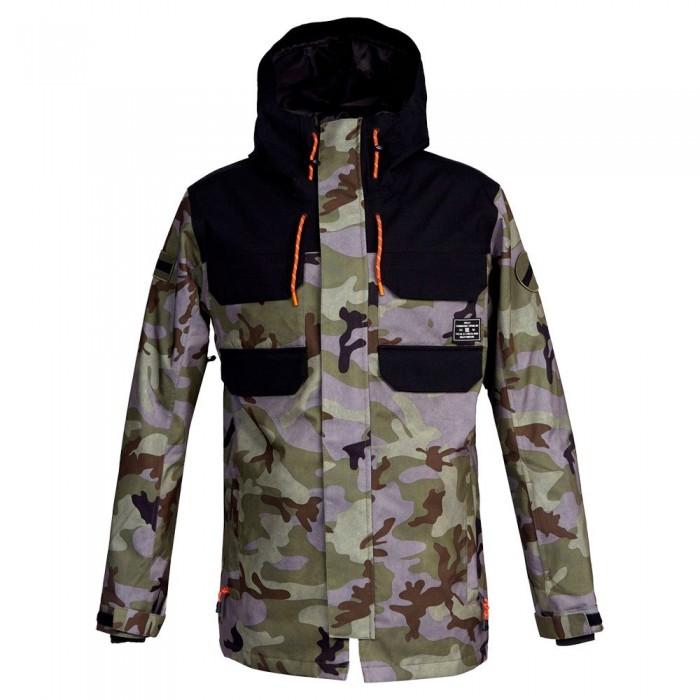 [해외]DC슈즈 Haven Jacket 14138152726 Woodland Camo Castlerock