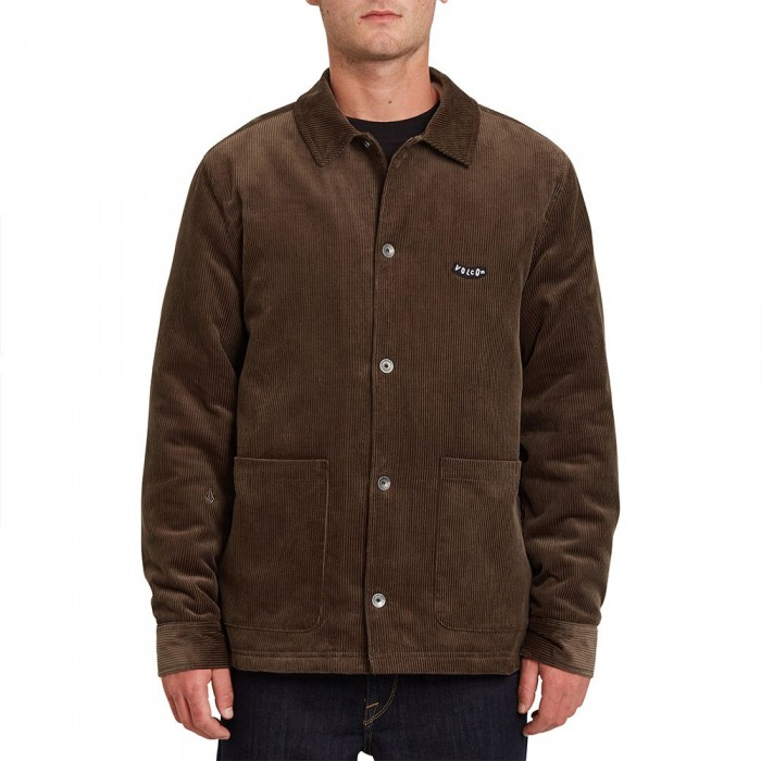 [해외]볼컴 Benvord Heavy Jacket 14138162292 Wren