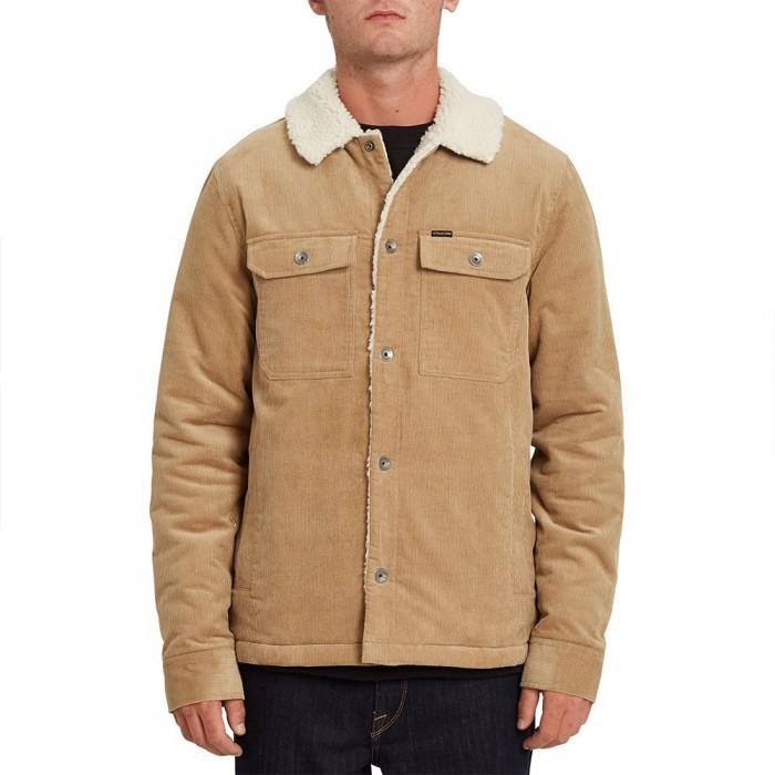 [해외]볼컴 Keaton Heavy Jacket 14138162301 Dark Khaki