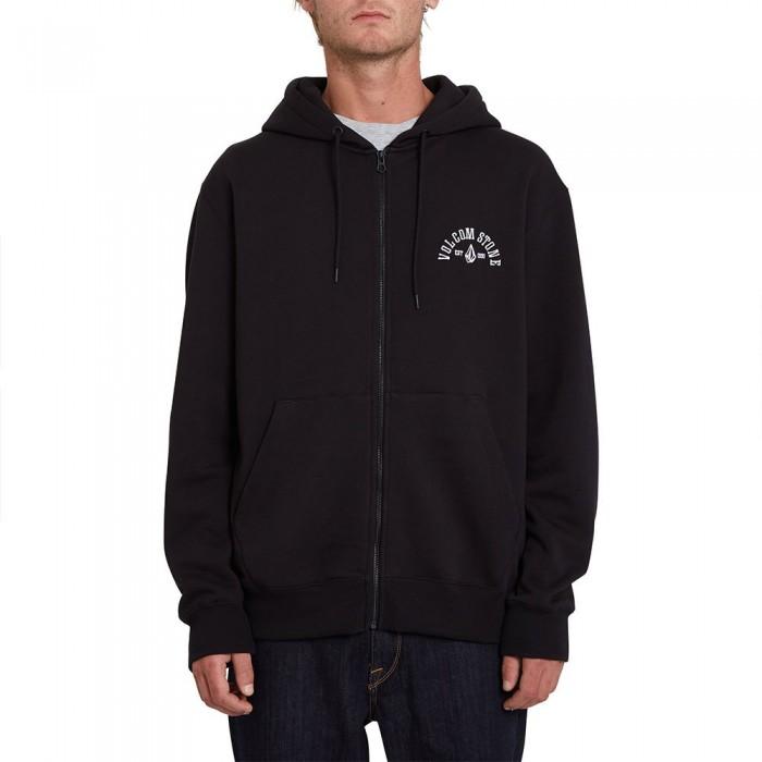 [해외]볼컴 Extends Full Zip Sweatshirt 14138162397 Black