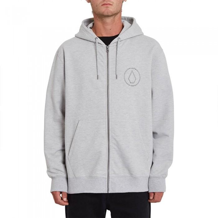 [해외]볼컴 Extends Full Zip Sweatshirt 14138162398 Heather Grey