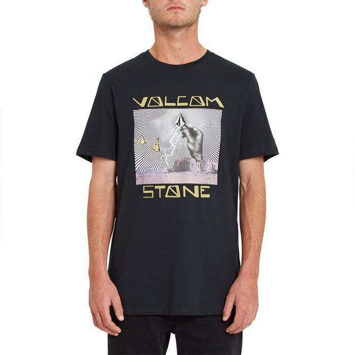 [해외]볼컴 Stone Strike Short Sleeve T-Shirt 14138162404 Black