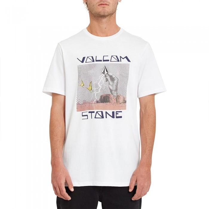[해외]볼컴 Stone Strike Short Sleeve T-Shirt 14138162405 White