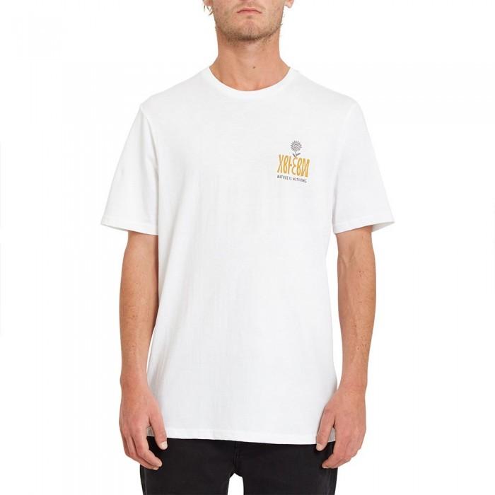 [해외]볼컴 Daisy Flip Short Sleeve T-Shirt 14138162406 White