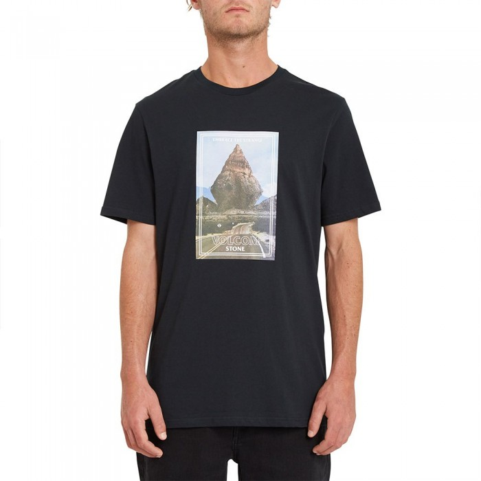 [해외]볼컴 Hand Stone Short Sleeve T-Shirt 14138162407 Black
