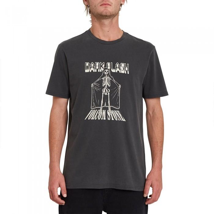 [해외]볼컴 Dark Flash Short Sleeve T-Shirt 14138162419 Black