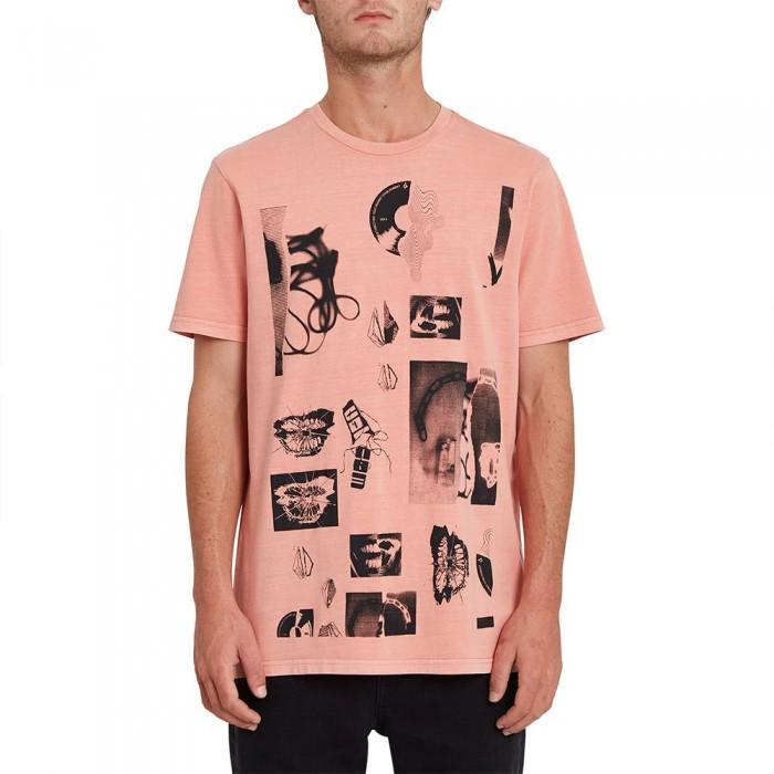 [해외]볼컴 Raftwo Short Sleeve T-Shirt 14138162423 Desert Sand